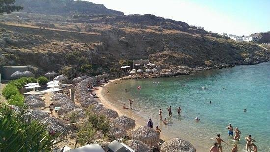 Lindos White Hotel and Suites: st pauls bay