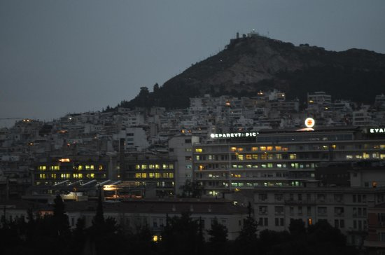 Hilton Athens: View from the window