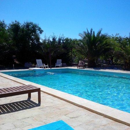 Masseria Cesarina : The pool