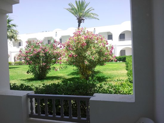 Hotel Cedriana: vue depuis le balcon de la chambre