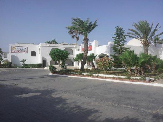 Hotel Cedriana: entrée hotel