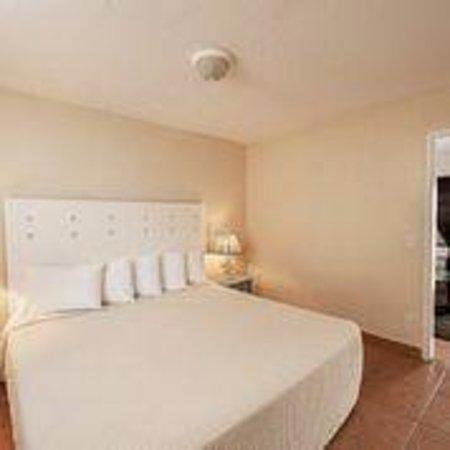 Palm Beach Oceanfront Inn : King Size Bed Room