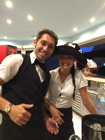 Delfinia Resort Hotel: The bar staff
