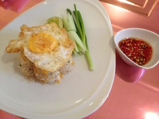 Hua Chang Heritage Hotel: crab meat fried rice