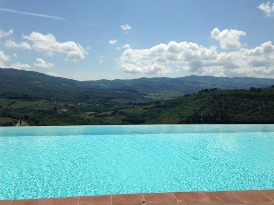 Castello Vicchiomaggio: heaven