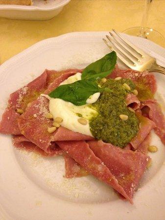 Castello Vicchiomaggio: amazing pasta