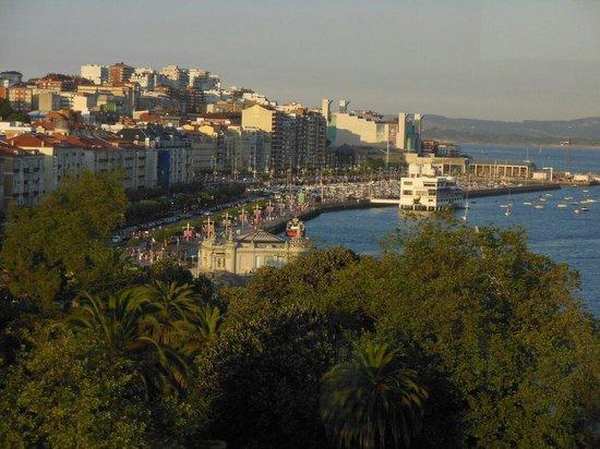 Hotel Bahia Santander: Vistas panorámicas desde la suite junior