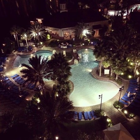 Wyndham Grand Orlando Resort Bonnet Creek: Vista do quarto onde ficamos