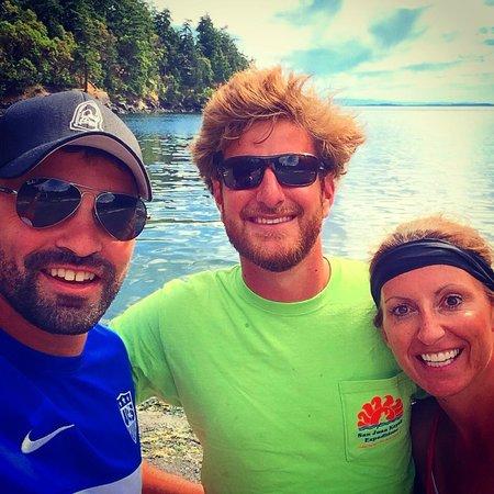 San Juan Kayak Expeditions - Day Tours: Our tour guide, AJ