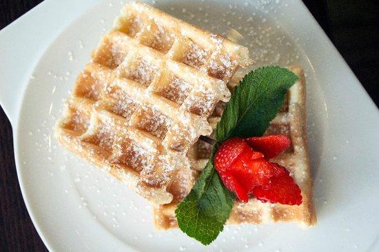 Cafe-Haus Koch Berlin: Waffle special