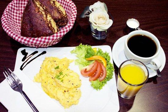 Cafe-Haus Koch Berlin: Salty Breakfast