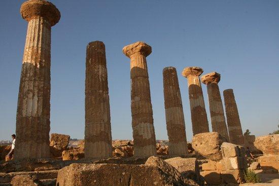 Valley of the Temples (Valle dei Templi): Agrigente temple d'Héraklès