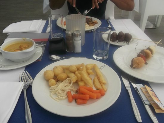 SENTIDO Gran Canaria Princess: yummy food