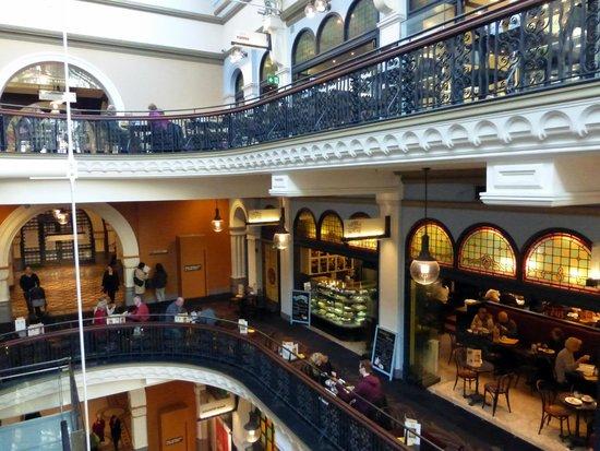 Queen Victoria Building (QVB): inside