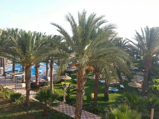 Houda Golf and Beach Club : View from our room