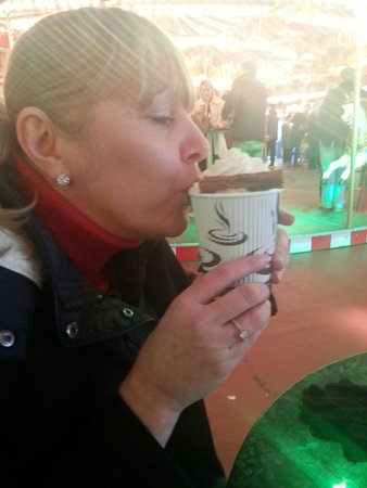 Winter Wonderland: Hot chocolate deluxe goodness carasel bar. So good on a chilly December afternoon. Yum.
