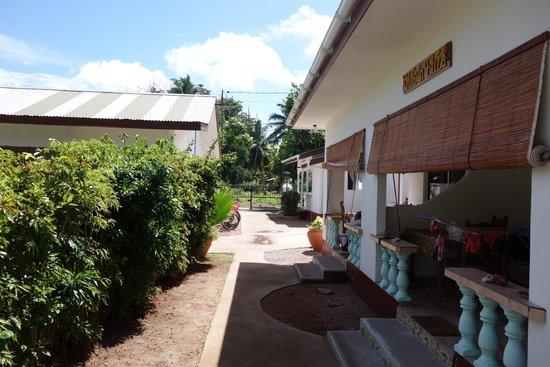 Pension Hibiscus: veranda