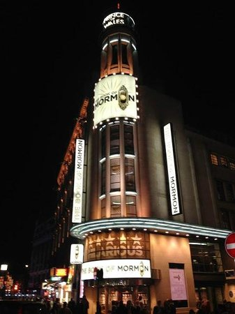 Book of mormon musical london