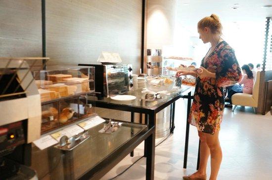 New World Millennium Hong Kong Hotel: 早餐