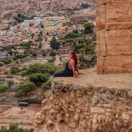 Conjunto Monumental de La Alcazaba: edge