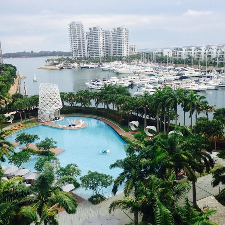 W Singapore Sentosa Cove: View from the balcony