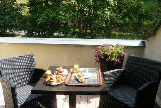 Brit Hôtel Du Ban : Petit déjeuner en chambre