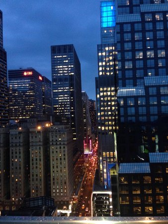 citizenM New York Times Square: Vista dal roof top