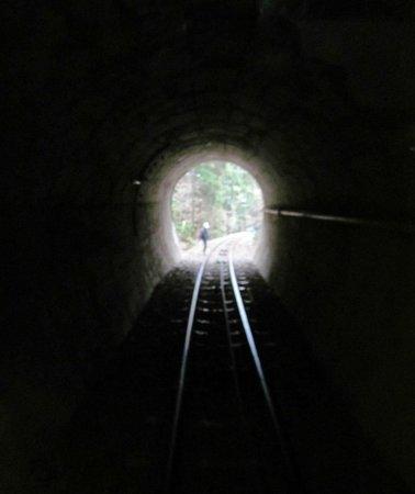 Mount Tsukuba: Mt.Tsukuba Ropeway tunnel