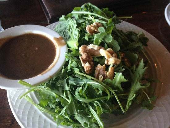 Lago : Arugula Salad (they were cheap on the walnuts)