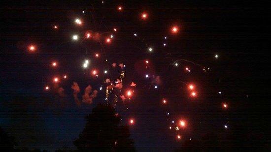Mountain Lake Lodge: July 5th Fireworks