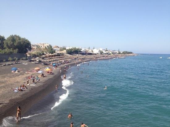 Epavlis Hotel: kamari beach