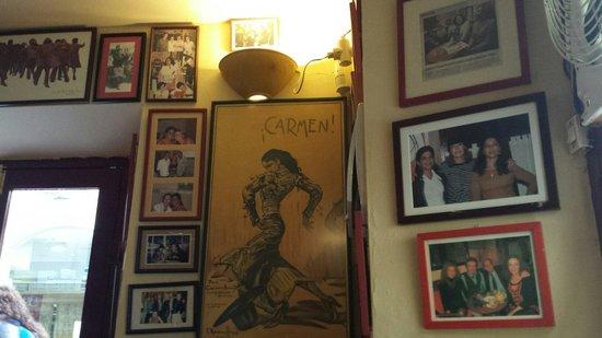 Cafe de Levante: Interno