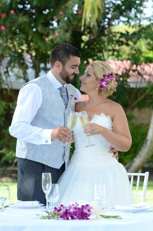 Sandals Grande Antigua Resort & Spa: Our gorgeous wedding day