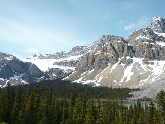 Canadian Rockies Van Tours - Canadian Co-ordinate Systems - One Day tour: クロウフット氷河