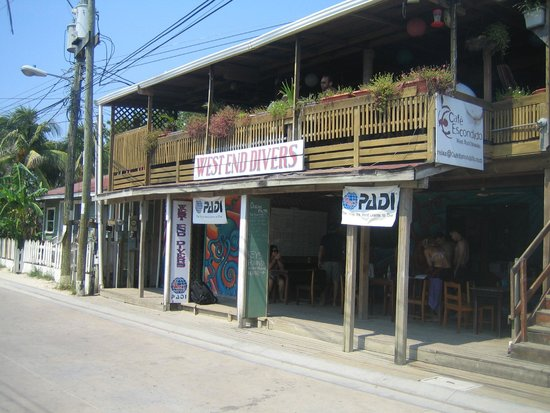View of Cafe Escondido from the Street