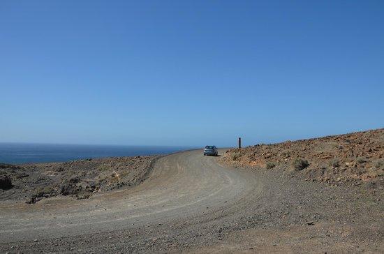 Playa de Cofete: vers Cofete piste