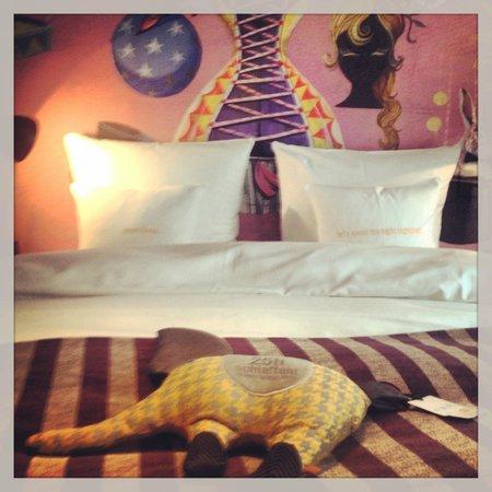 25hours Hotel beim MuseumsQuartier: номер в отеле