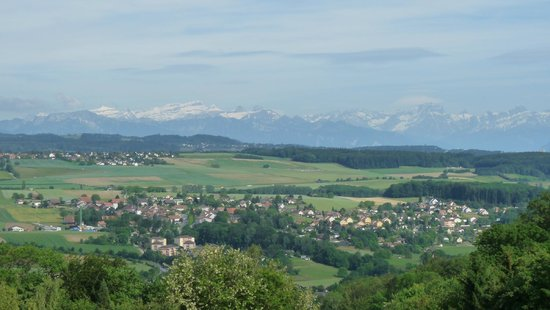 Hotel Le Funi de Cossonay: A room with a view is always nice