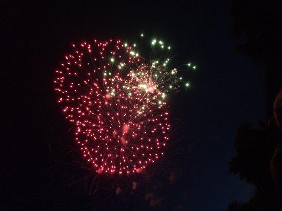Mountain Lake Lodge : Fireworks