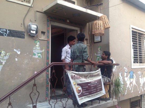 Millets of Mewar Restaurant: Main Entrance