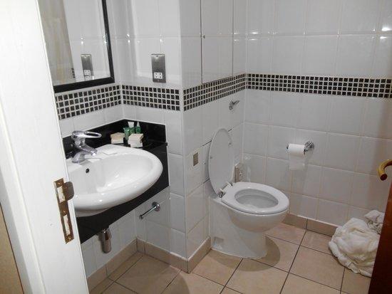 Hilton Nottingham: bagno