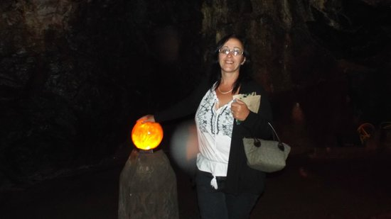 Cheddar Caves & Gorge: crystal cave