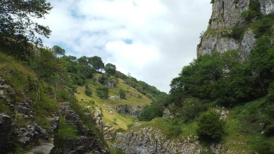 Cheddar Caves & Gorge: gorge open air bus trip