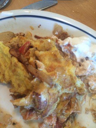 IHOP: Worst omelet ever!