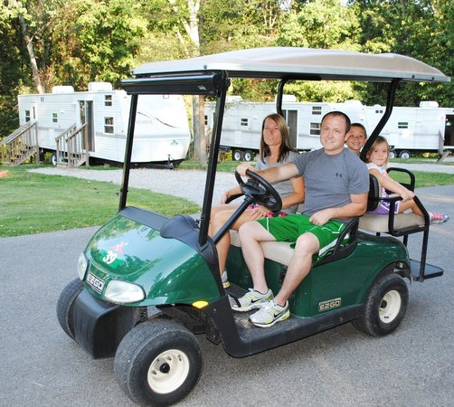 Golf Car Rental At Lake Rudolph