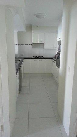 Xanadu Holiday Resort: Very functional kitchenette