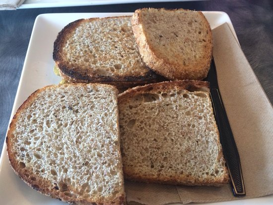 Panera Bread : Rye toast with butter