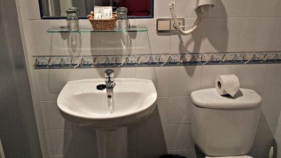 Hotel Náutico: Cuarto de baño