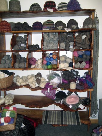 Crookabeck Bed & Breakfast: Knitters/crocheters paradise!