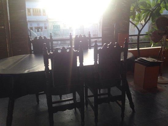 Millets of Mewar Restaurant: Top floor seating